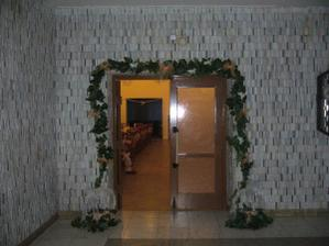 vchod do sály