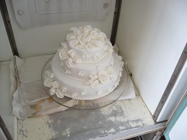Maťko a Lucka - svadobná tortička