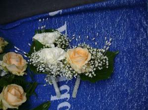 pierka pre ženícha a svedkou
