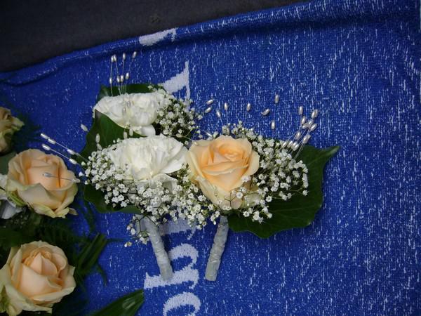 Maťko a Lucka - pierka pre ženícha a svedkou