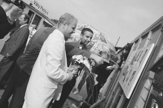 ženich si vybírá nevěstu