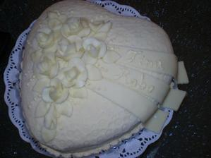 zásnubná tortička