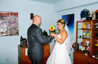 příchod ženicha :-)