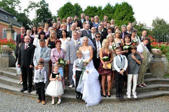 S našimi milými svatebčany