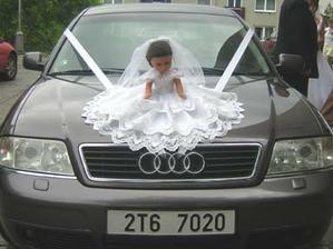 moje nazdobené autíčko