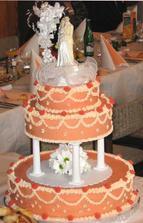 další - hlavní dortík, který jsme krájeli