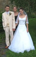 novomanželé se švagrovou