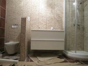 tak a koupelnu máme z 80% hotovou :)