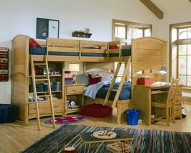 jak se dají nacpat 3 děti do 1 pokoje :)
