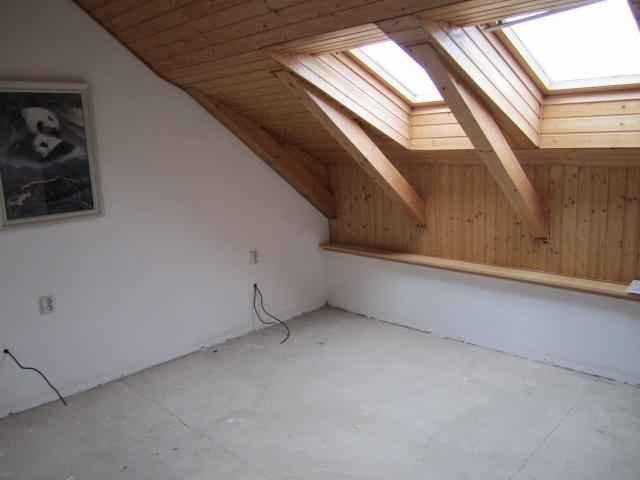 Naše podkroví - a podlaha je nenávratně pryč....