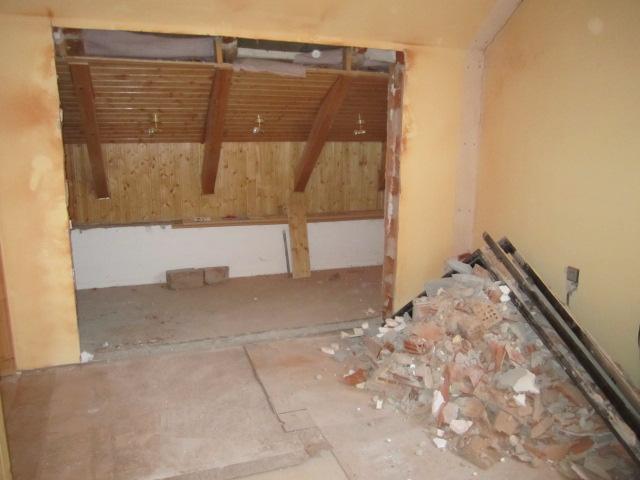 Naše podkroví - a vybouráno :)