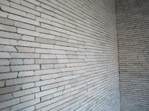 detail mozaiky: hlavní stěna + sprchový kout