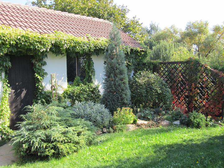 Naše podkroví - podzim na zahradě...jen malá ukázka exteriéru :-D