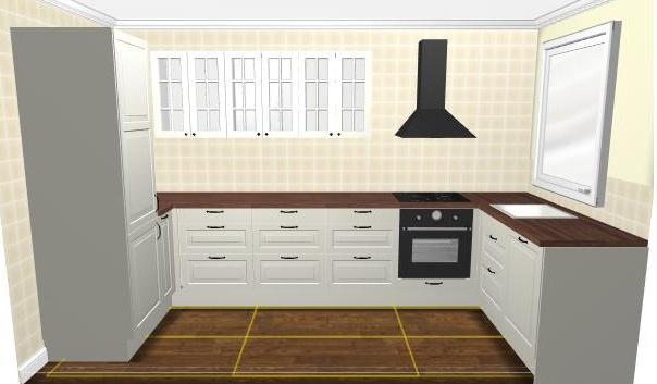 Naše podkroví - máme naplánovanou minikuchyňku :)