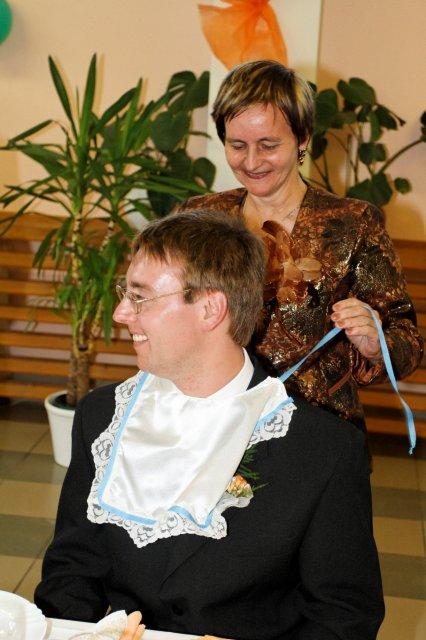Mária Gičová{{_AND_}}Jozef Flimel - ...potom ženích...