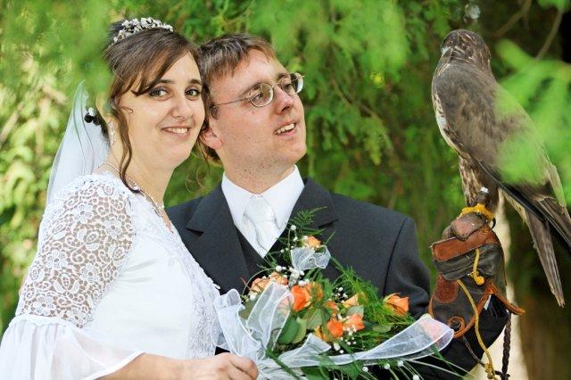 """Mária Gičová{{_AND_}}Jozef Flimel - Nevesta sa pýta ženícha: """"Čo to tu visí za vtáka?"""""""