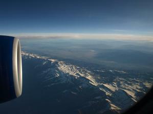 pohoří Sierra Nevada...poetické