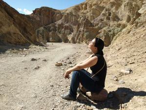 Relax v na líbánkách v Údolí smrti