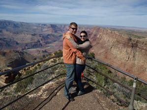 pokračování líbánek v Grand Canyonu