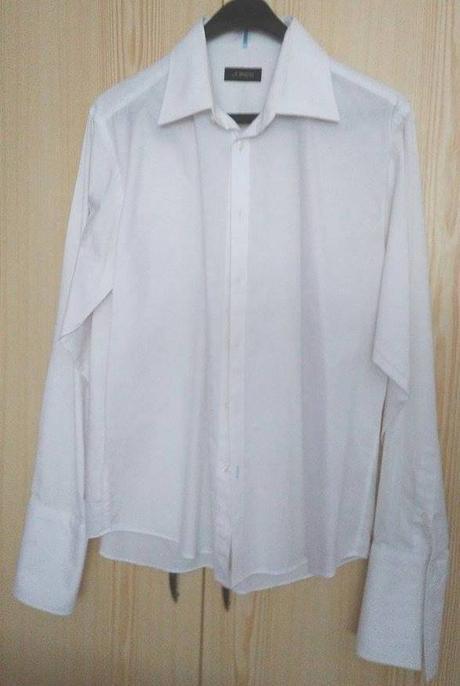 Biela svadobná košeľa - Obrázok č. 1