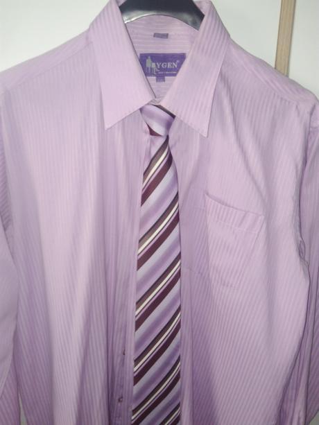 Fialová košeľa 42/43 - Obrázok č. 1