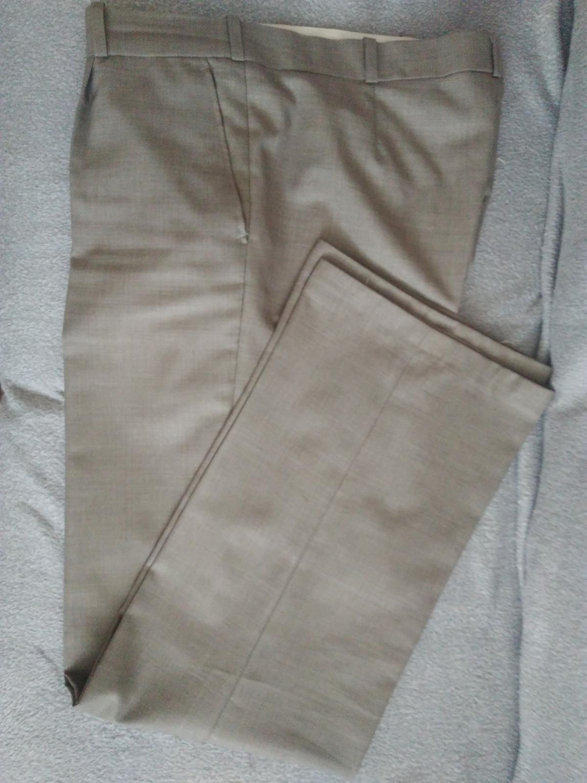 Pánske nohavice na vysokú postavu - Obrázok č. 1
