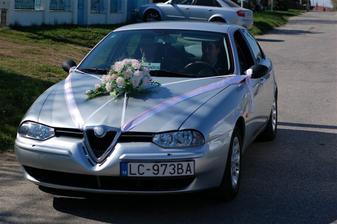svadobne autíčko