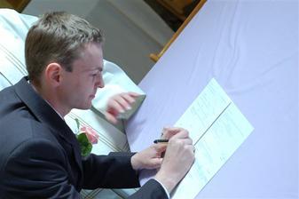 a náš podpis...