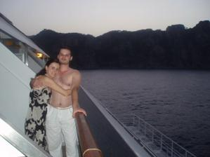 Svadobná cesta na lodi v Stredozemnom mori