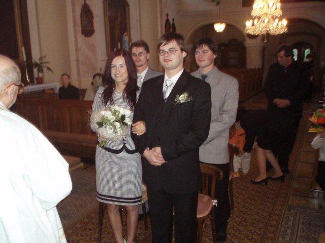 Gabriela Čerňanská{{_AND_}}Radovan Babčan - 13.októbra 2007 sme zopakovali tú istú chybu...ale tentokrát v kostole...ha