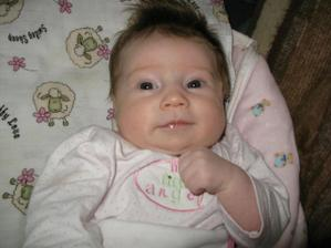 A toto je náš už 3,5 mesačný anjelik Zina Gabriela
