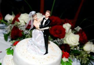 ... svadobná torta ...