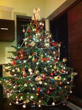 vianočný stromček 2011