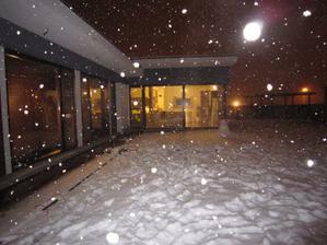 krásne snežilo...