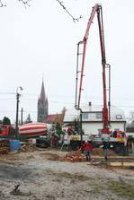 Betonování základovky