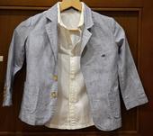 Dětský oblek, sako + košile, vel.104, 104