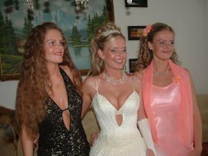 Ja s mojimi mladšími sestrami