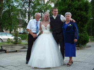 S Marekovými rodičmi