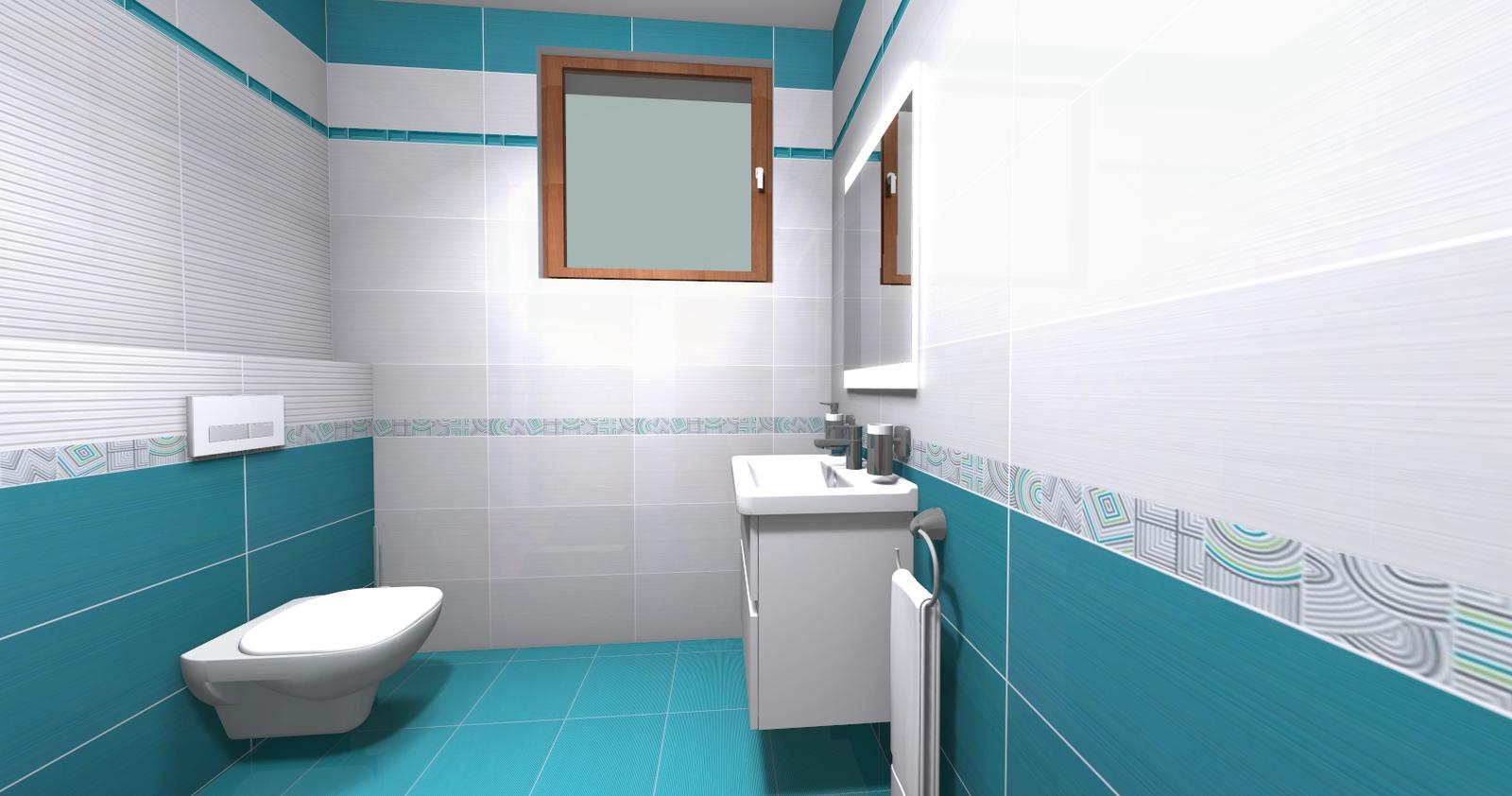 Kúpeľne - Malá kúpeľňa pohľad 1