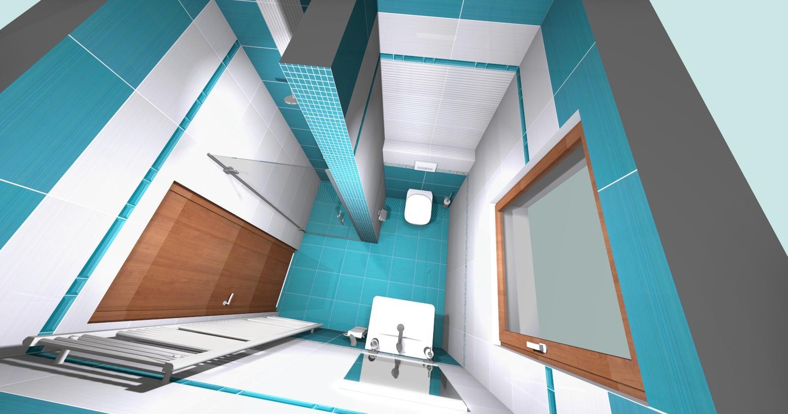 Kúpeľne - Malá kúpeľňa pohľad 3