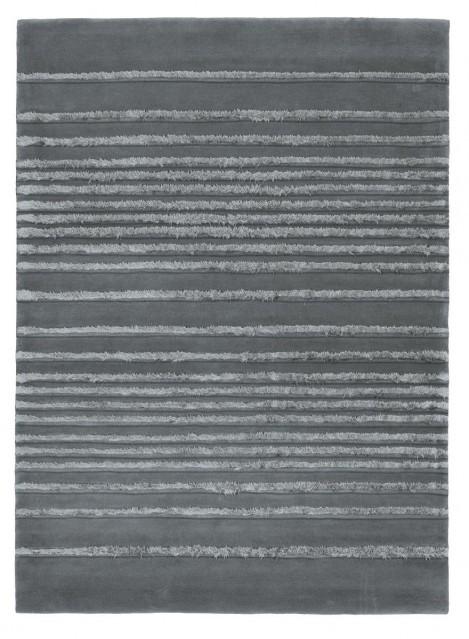Pre mňa úžasná kombinácia dreva a šedej farby - zaujímavý koberec...