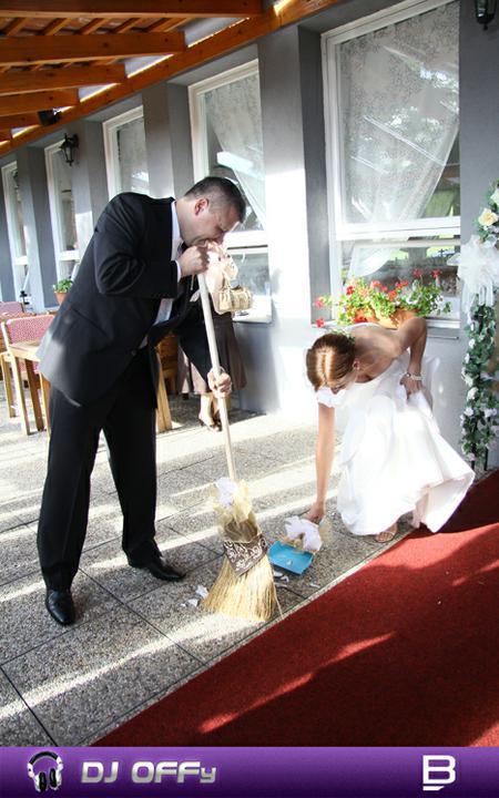 DJ OFFy - DJ FOR MY WEDDING - Prvé spoločné práce...