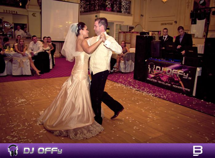DJ OFFy - DJ FOR MY WEDDING - Svadba Reduta Bratislava