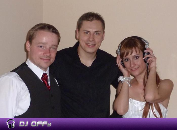 DJ OFFy - DJ FOR MY WEDDING - Svadba_Hotel Medium - mladomanželia
