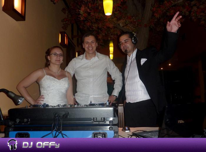 DJ OFFy - DJ FOR MY WEDDING - Svadby_Reštaurácia AQA - mladomanželia