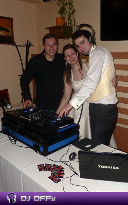 DJ OFFy - DJ FOR MY WEDDING - Svadba_Reštaurácia OÁZA - mladomanželia