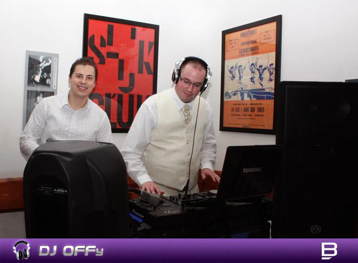 DJ OFFy - DJ FOR MY WEDDING - Ženích mixuje svoju muziku...