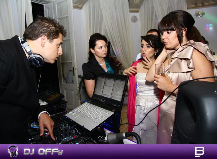 DJ OFFy - DJ FOR MY WEDDING - Porada :) ...konzultácia programu