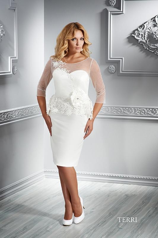EMMI MARIAGE - koktejlové šaty XL - TERRI