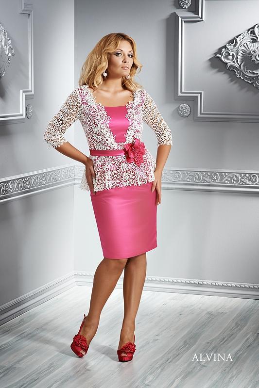 EMMI MARIAGE - koktejlové šaty XL - ALVINA